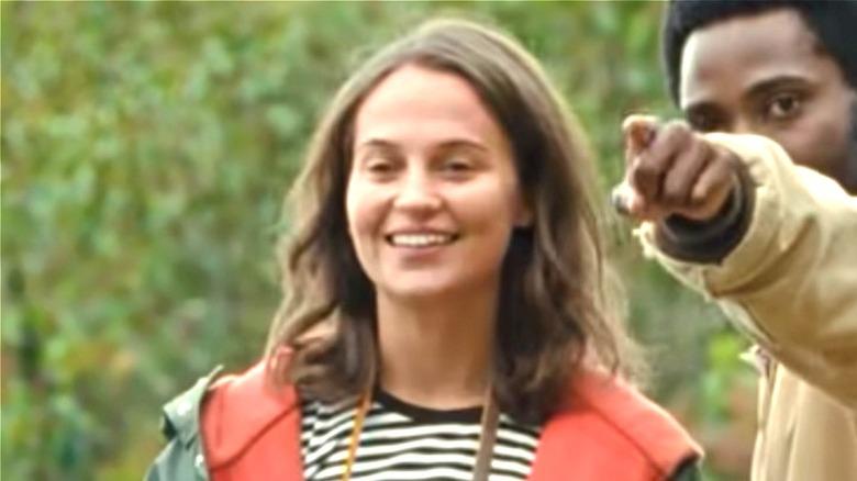 Vikander as April in Beckett