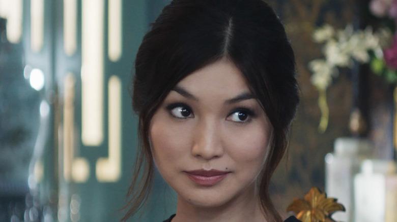 Chan in Crazy Rich Asians smirking