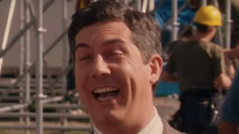 Chris Parnell laughing