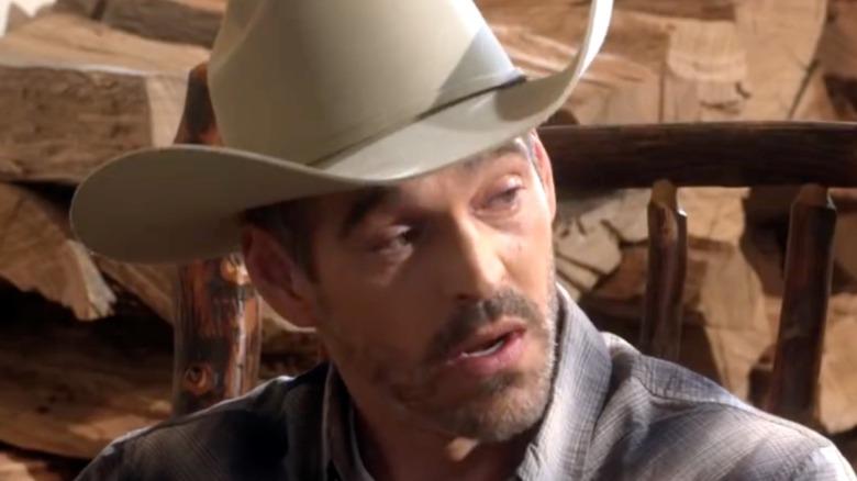 Beau in cowboy hat