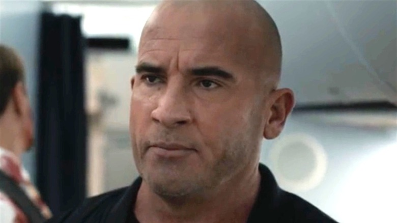 Dominic Purcell as Berg in Blood Red Sky