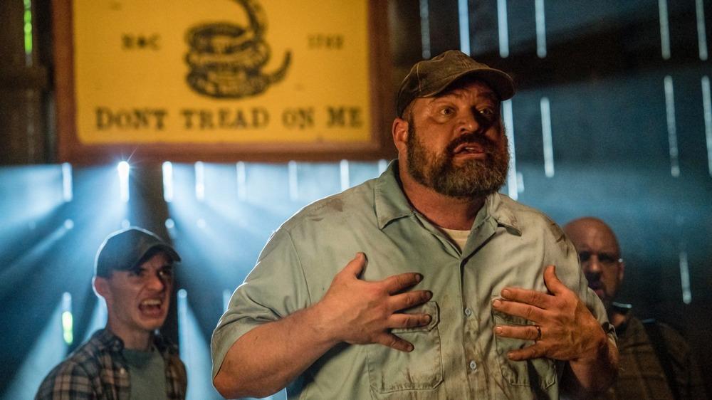 Brad William Henke as Big John on Manhunt: Deadly Games