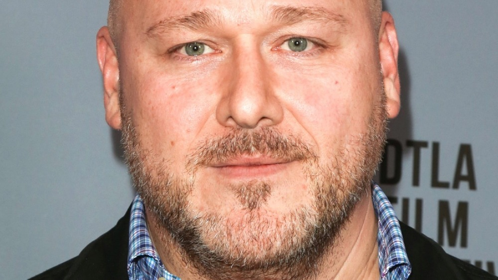 Will Sasso with stubble