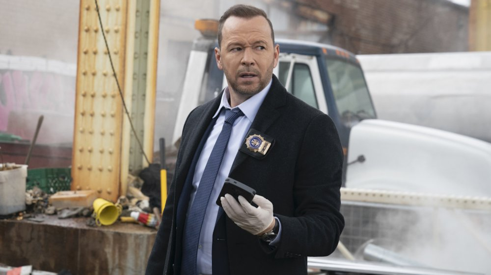Donnie Wahlberg as Detective Daniel Fitzgerald Reagan on Blue Bloods