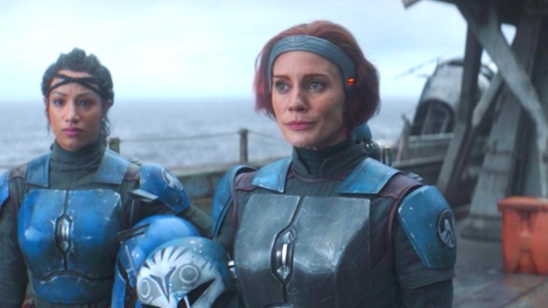 Katee Sackhoff as Bo-Katan in The Mandalorian