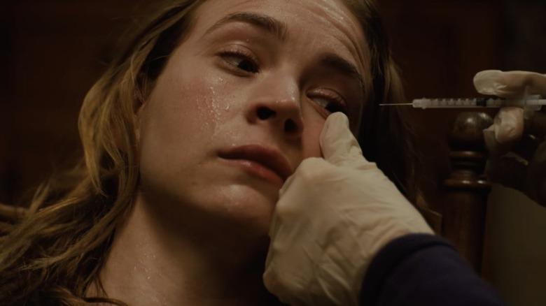 Britt Robertson as Jenna in Hulu's Books of Blood
