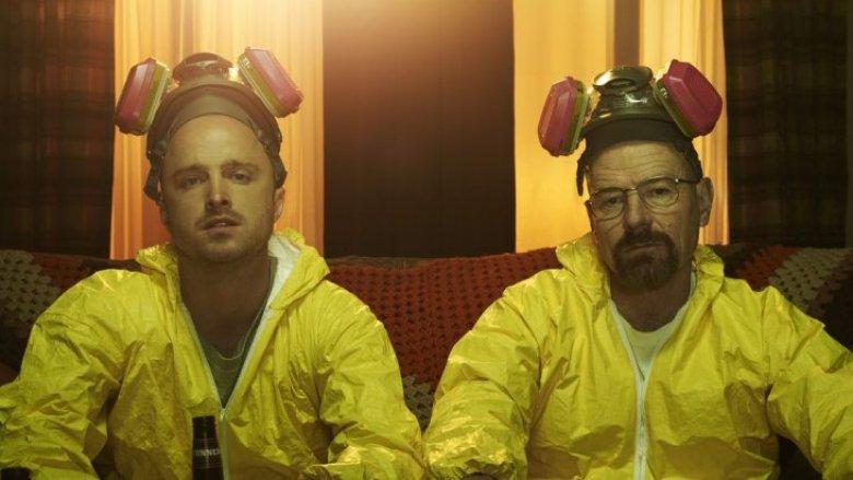Bryan Cranston and Aaron Paul Breaking Bad
