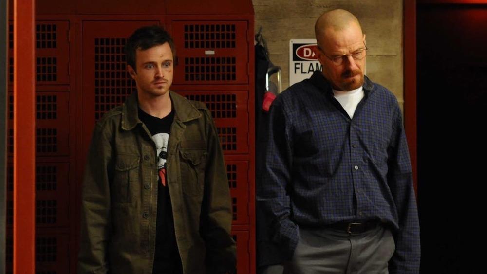 Aaron Paul and Bryan Cranston on Breaking Bad