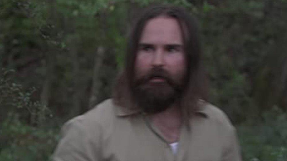 Zach Ball as a Savior on The Walking Dead