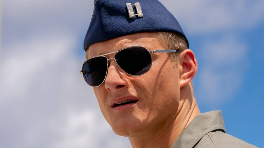 Alexander Ludwig plays Captain Andrew in Operation Christmas Drop