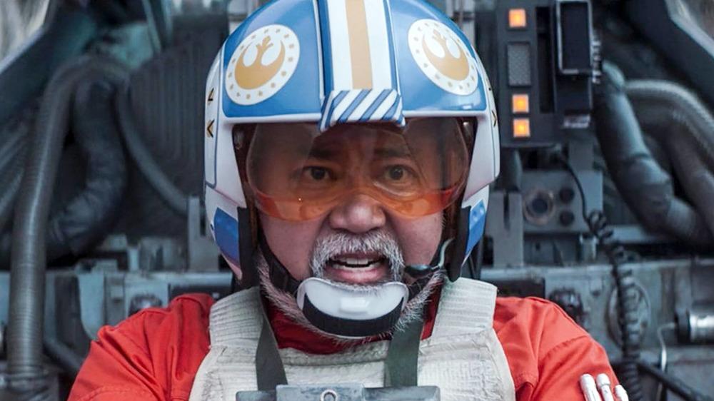 Paul Sun-Hyung Lee plays Captain Carson Teva on The Mandalorian