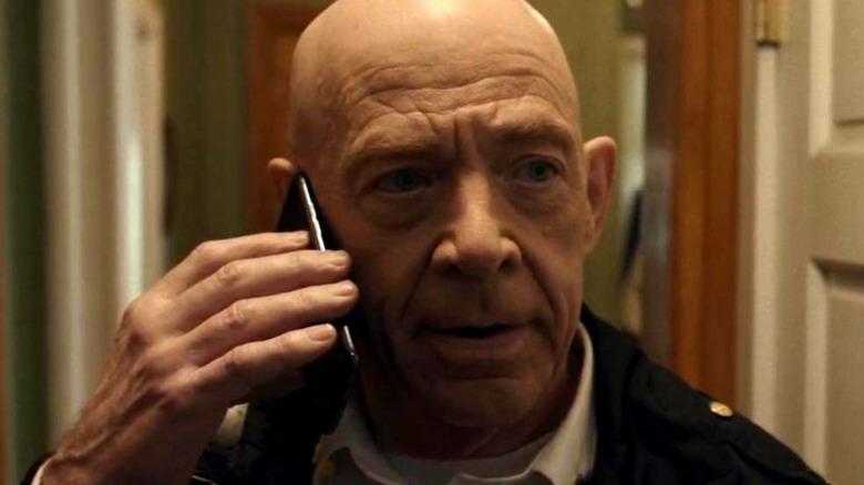 "J.K. Simmons as Captain McKenna in ""21 Bridges"""