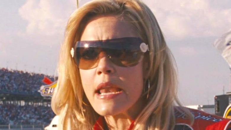 Carley Bobby wearing sunglasses