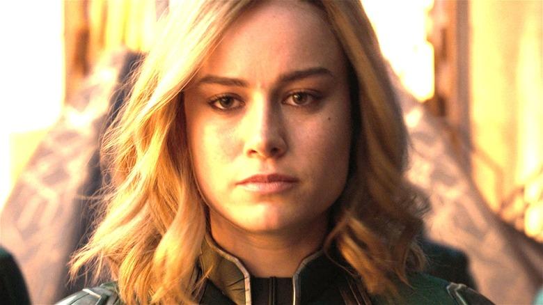 Carol Danvers in the Kree uniform