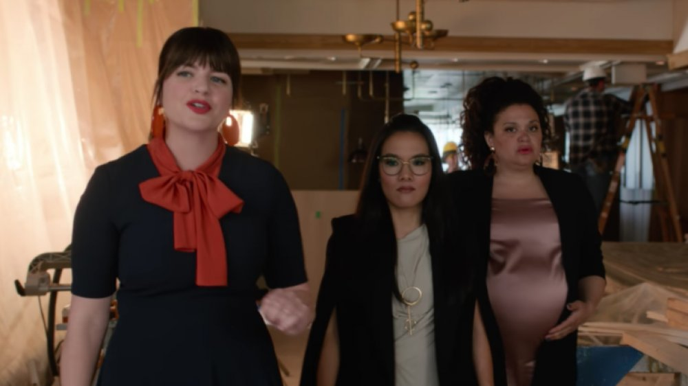 Casey Wilson, Ali Wong, and Michelle Buteau in Always Be My Maybe