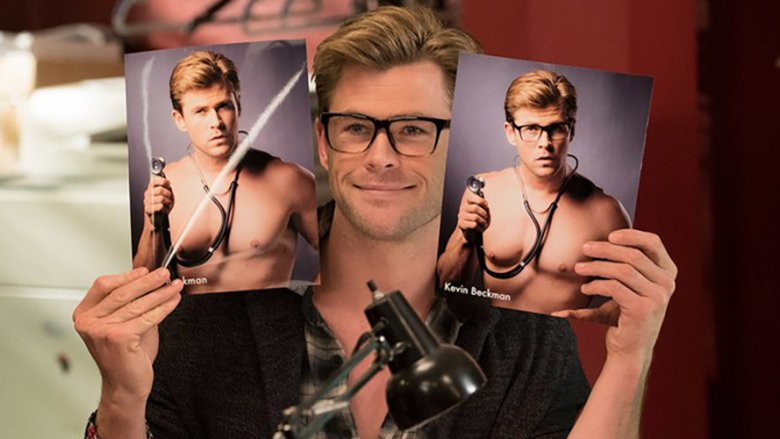 Chris Hemsworth as Kevin Beckman in the Ghostbusters remake