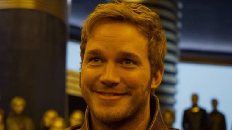 Star Lord smiling