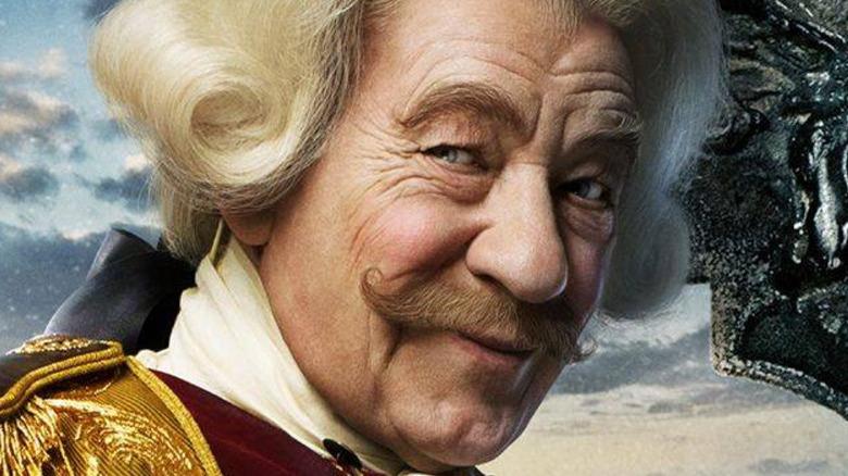 Ian McKellen Cogsworth movie poster