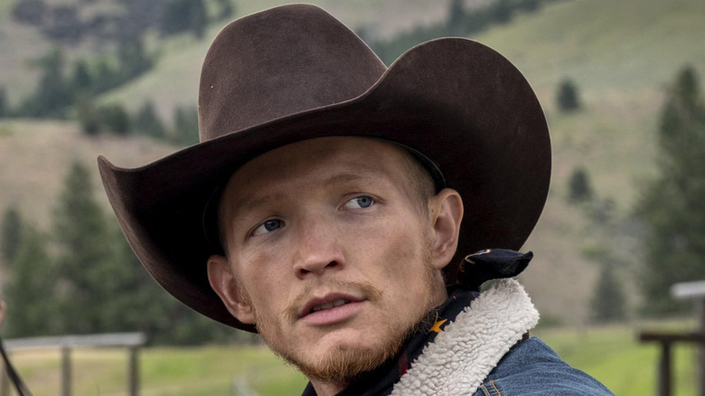 Jefferson White as Jimmy on Yellowstone