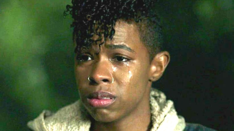 Kelly The Walking Dead crying