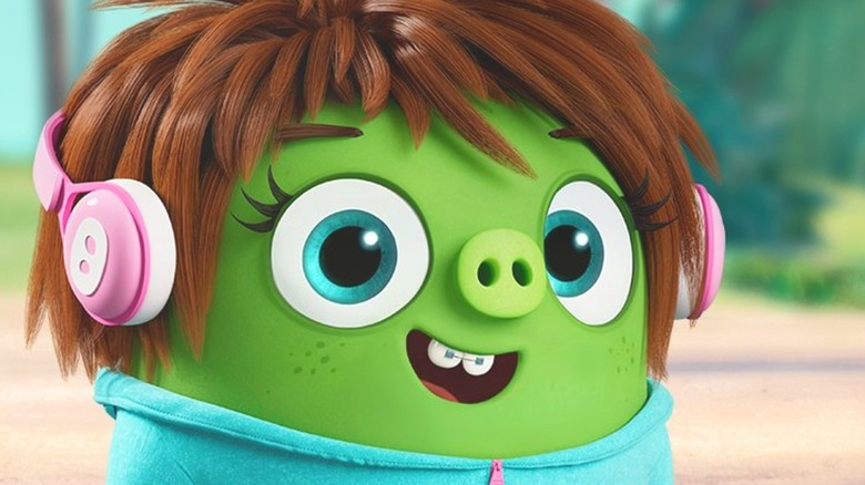 Courtney the pig in The Angry Birds Movie 2