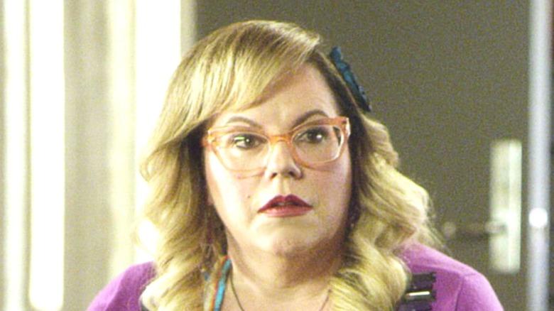 Penelope Garcia looking suspicious