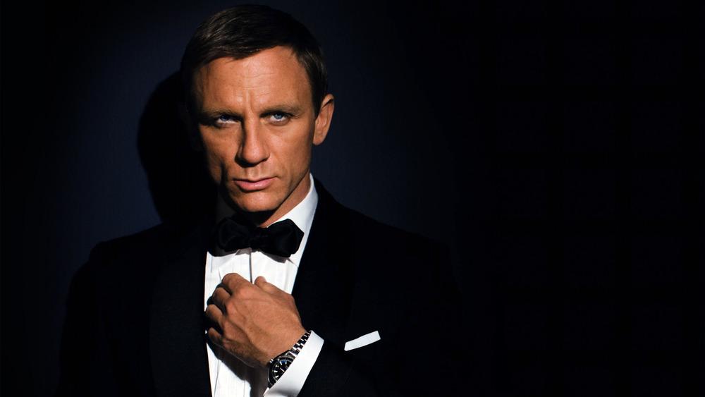 Daniel Craig as James Bond in Quantam of Solice