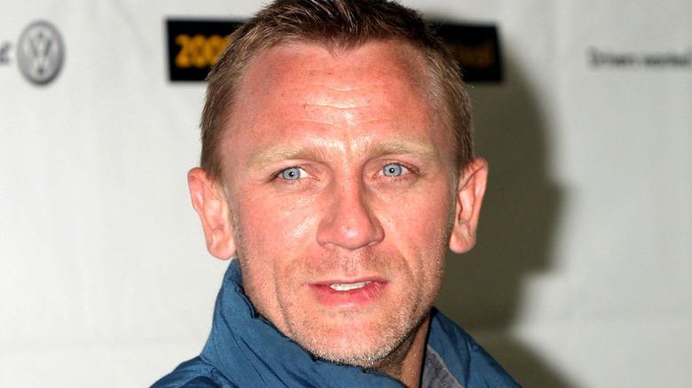 Daniel Craig smiling