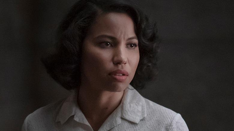 Letitia has a worried gaze