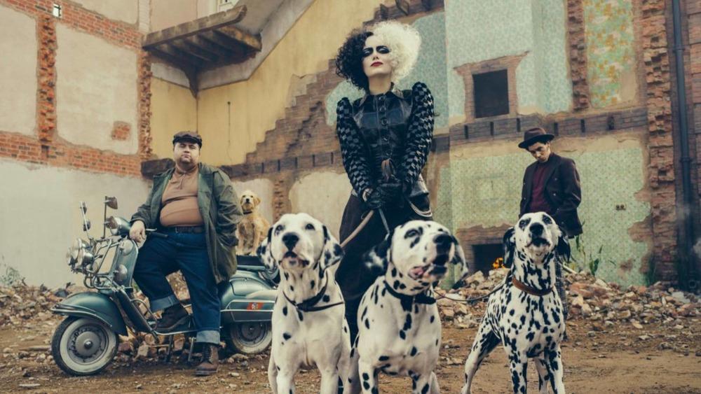 Emma Stone stars in the upcoming Disney film, Cruella