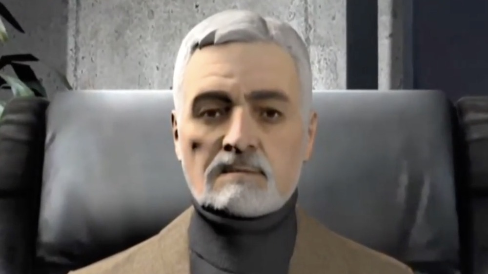 Dr. Wallace Breen from Half-Life: Alyx propaganda video