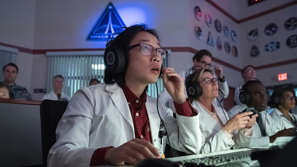 Jimmy O. Yang in Netflix's Space Force