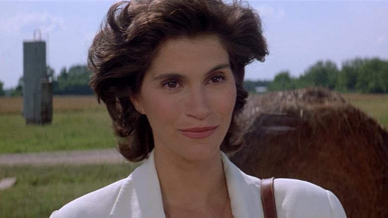 Jami Gertz as Dr. Reeves in 'Twister'