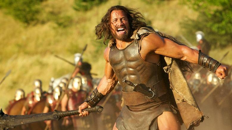 Dwayne Johnson as Hercules in Hercules
