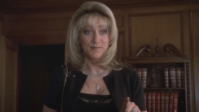 Edie Falco as Carmela Soprano on The Sopranos