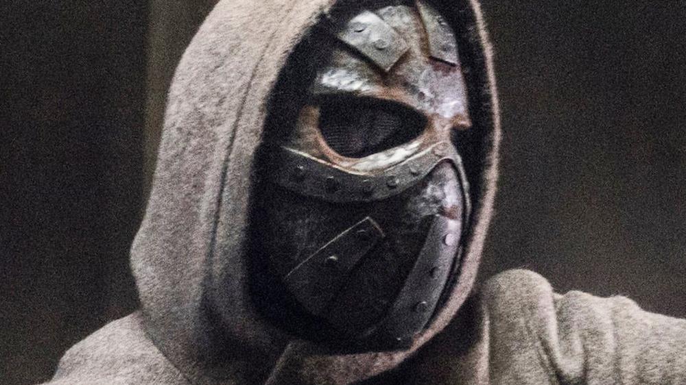 Elijah, the Masked Man, in The Walking Dead