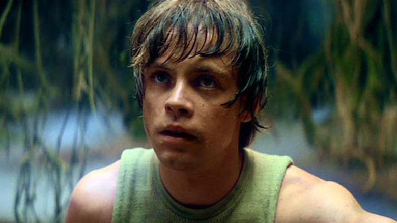 Mark Hamill as Luke Skywalker in The Empire Strikes Back