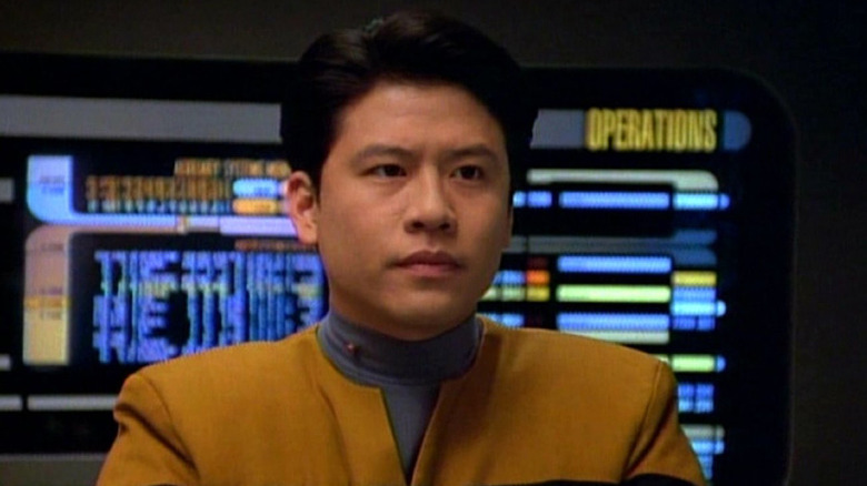 Garrett Wang as Harry Kim on Star Trek: Voyager