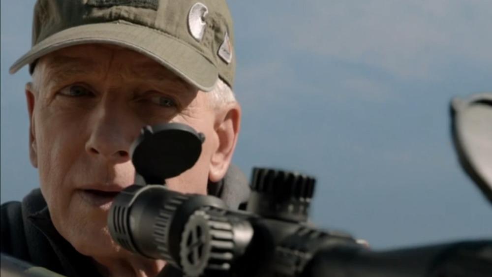 Mark Harmon as Agent Gibbs on NCIS