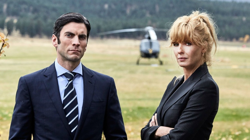 Wes Bentley and Kelly Reilly on Yellowstone