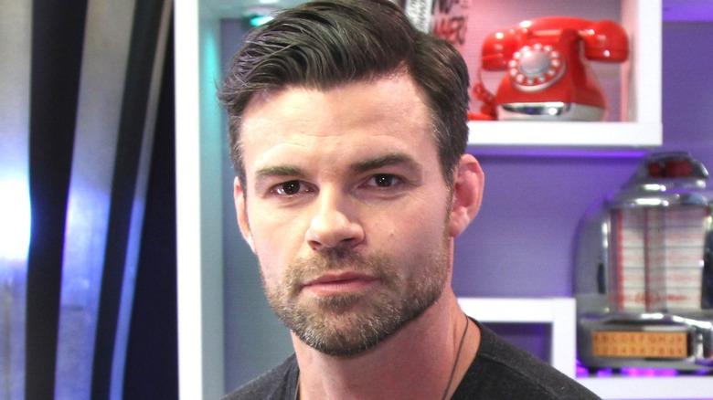 Daniel Gillies Piercing Eyes Haircut Phone