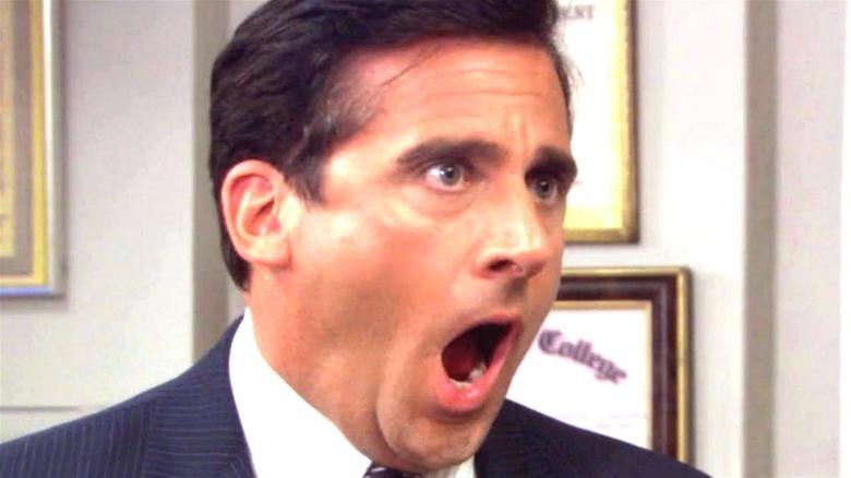 "Michael yelling ""no"""