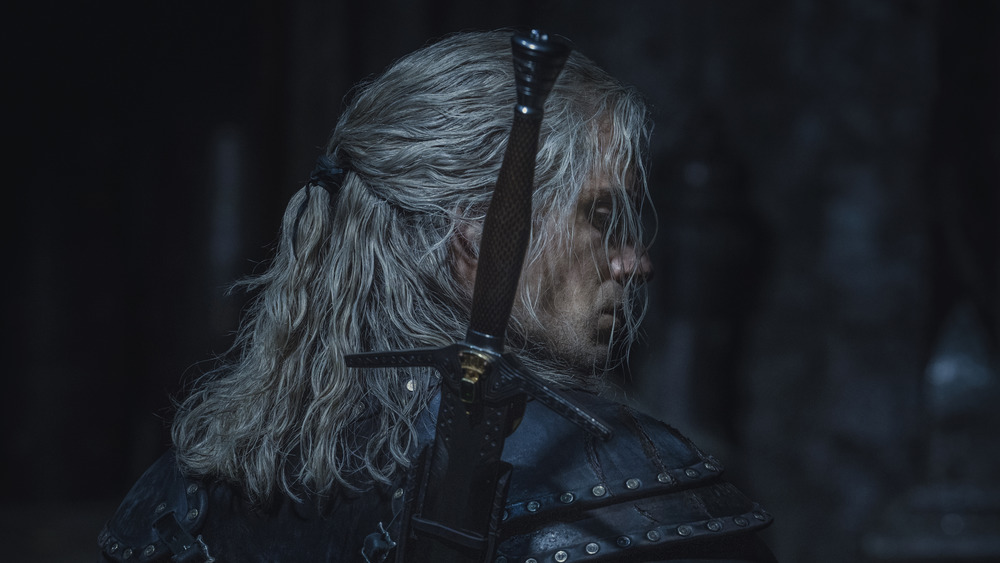 Henry Cavill as Geralt on The Witcher