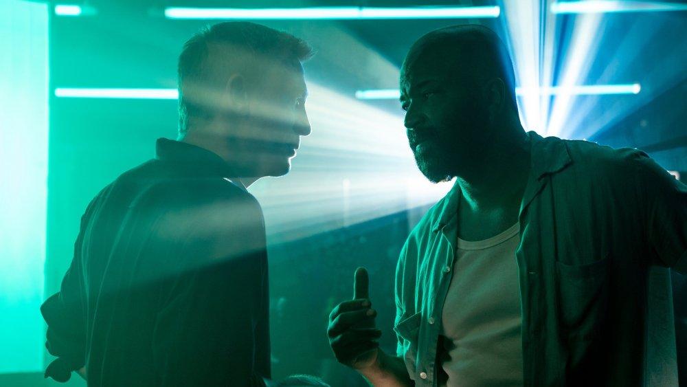Daniel Craig and Jeffrey Wright as James Bond and Felix Leiter