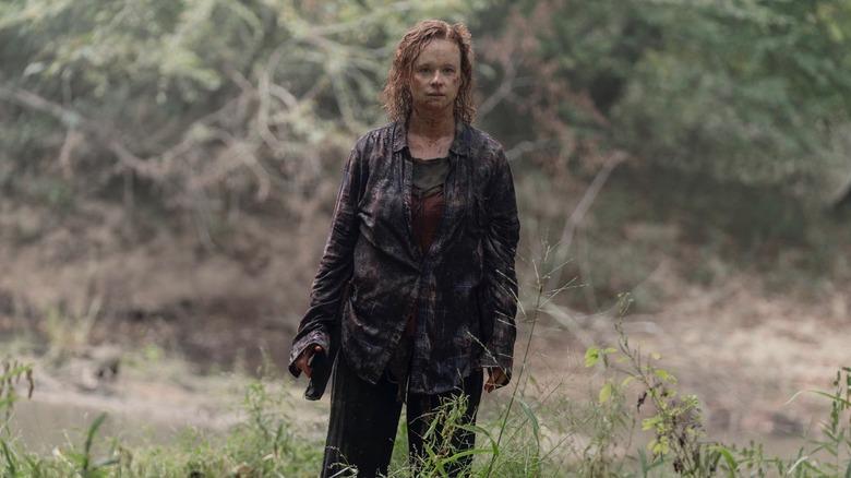 Thora Birch as Gamma on The Walking Dead