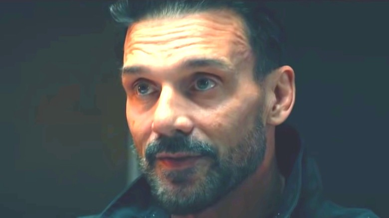 Frank Grillo looks serious