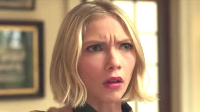 Kate looking shocked