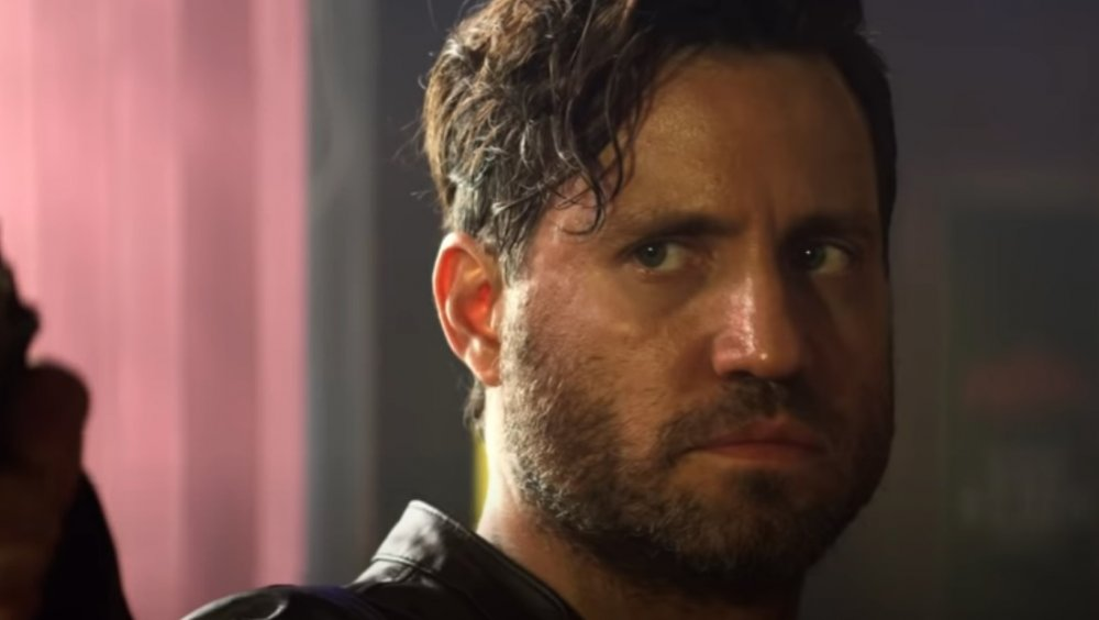 Édgar Ramirez as Graham Bricke in The Last Days of American Crime