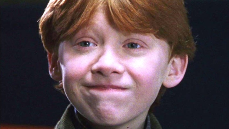 Ron Weasley smiling