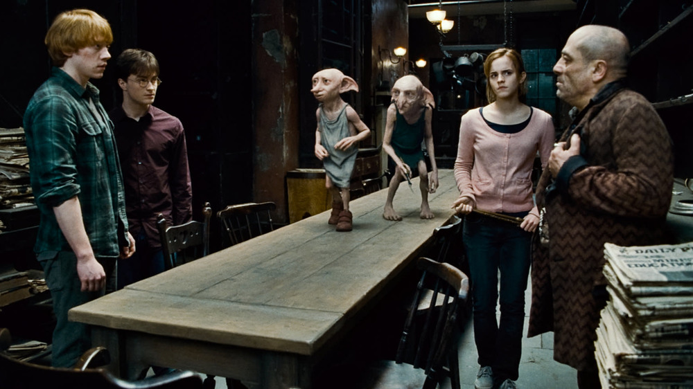 Harry Potter house elves kitchen